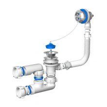 Слив-перелив для ванны Ани с цепочкой 500 мм (E250)