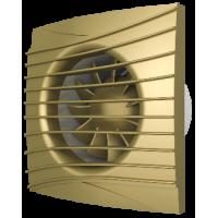 Вентилятор вытяжной осевой DiCiTi SILENT 4C Champagne D100 с обратным клапаном