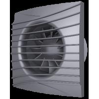 Вентилятор вытяжной осевой DiCiTi SILENT 4C Dark gray metal D100 с обратным клапаном