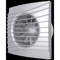 Вентилятор вытяжной осевой DiCiTi SILENT 4C Gray metal D100 с обратным клапаном