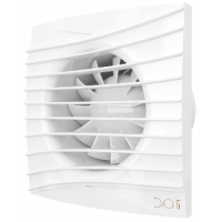 Вентилятор вытяжной осевой DiCiTi SILENT 4C D100 белый с обратным клапаном
