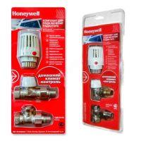 Комплект для подключения радиаторов Honeywell угловой с термоголовкой