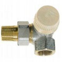 """Термостатический клапан для радиатора Honeywell 1/2"""" угловой торцевой правый (V2000RVS15)"""