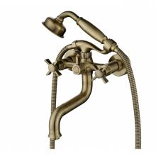Смеситель для ванны с душем Kaiser Cross 41022-1 бронза