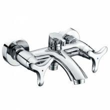 Смеситель для ванны с душем Kaiser Trio 57022 хром