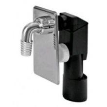 Клапан обратный для подключения бытовой техники, скрытого монтажа Miano (М0408)