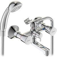 Смеситель для ванны с душем Vidima Квадро BA344AA двухвентильный