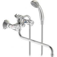 Смеситель для ванны с душем Vidima Квадро BA346AA двухвентильный