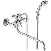 Смеситель для ванны с душем Vidima Практик BA343AA двухвентильный
