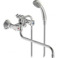 Смеситель для ванны с душем Vidima Практик BA230AA двухвентильный