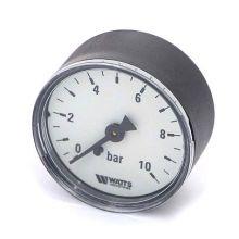 """Манометр аксиальный Watts F+R100 1/4"""" 10 бар 50 мм (10008093)"""