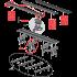 Водоотводящий желоб длиной 550 мм (APZ8-550)