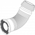 Гофра для унитаза Alcaplast L280-550 мм (А97)