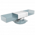 Тройник прямой ERA плоских воздуховодов 110х55 с выходом на фланцевые распределители D100 (511ТФ10П)