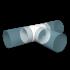 Тройник прямой ERA Т-образный круглый D100 (10ТП)