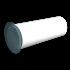 Вентиляционная решетка ERA круглая с сеткой и фланцем D100 (10РКС)