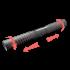 Воздуховод гибкий ERA алюминиевый гофрированный 100 мм (10ВА)