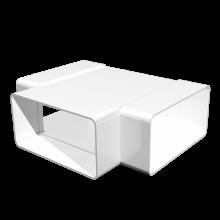 Тройник прямой ERA Т-образный плоский 110х55 (511ТПП)