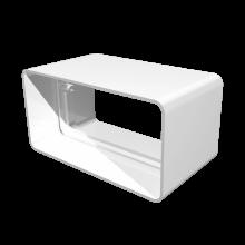 Соединитель плоских воздуховодов ERA 110х55 (511СКП)