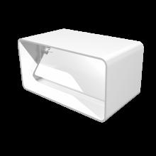 Соединитель плоских воздуховодов ERA с обратным клапаном 110х55 (511СКПО)