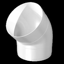 Отвод круглый ERA 45° 100 мм (10ККП45)