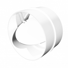 Соединитель круглых воздуховодов ERA с обратным клапаном D100 (10СКПО)