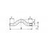 Обвод полипропиленовый FV-Plast 25 мм (233025)