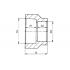 Муфта редукционная полипропиленовая FV-Plast 32х20 мм ВР-ВР (209032020)