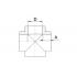 Крестовина полипропиленовая FV-Plast 25 мм (235025)