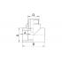 Тройник полипропиленовый FV-Plast 20х1/2 НР (222520)