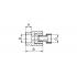 Муфта полипропиленовая с металлической накидной гайкой FV -Plast 20х1/2 (223020)