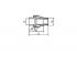Муфта разъемная (американка) FV-Plast полипропиленовая 40х1 1/4 НР (237040)
