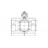 Кран шаровой полипропиленовый 32 мм Fv (301032)