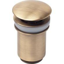 Донный клапан для раковины Kaiser 32 мм, античная бронза (8011An)