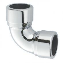 Отвод компрессионный McAlpine 32 мм 90° хром (32A-CB)